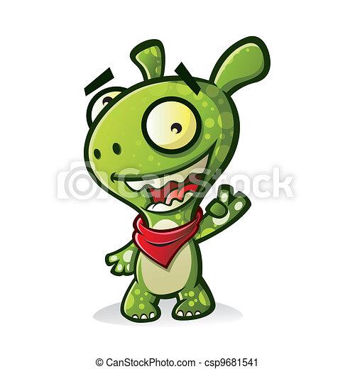 Cute Monster - csp9681541