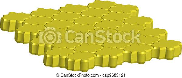 block behaton 3D - csp9683121
