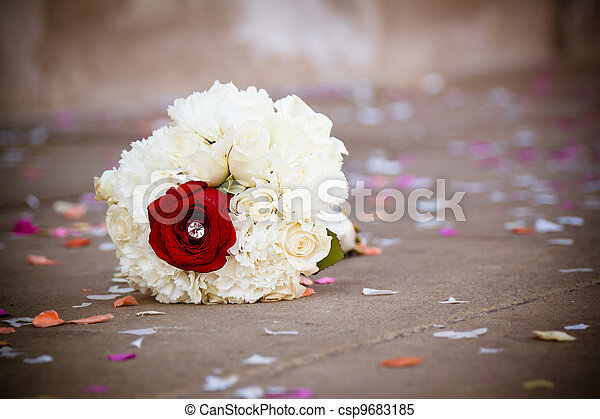 Wedding bouquet - csp9683185