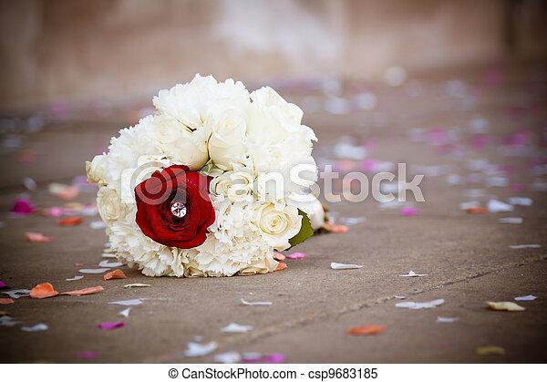 Wedding bouquet - csp9683185