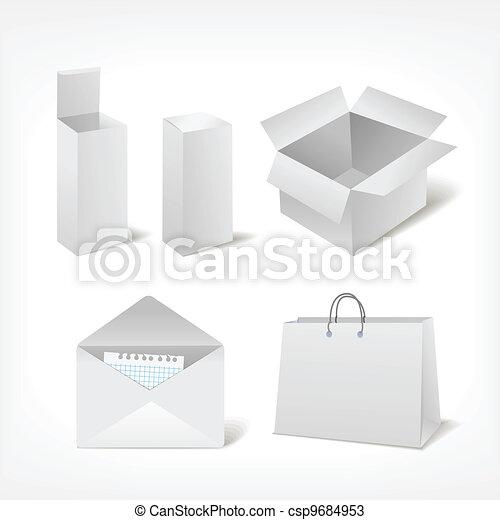 Set of different storage - csp9684953