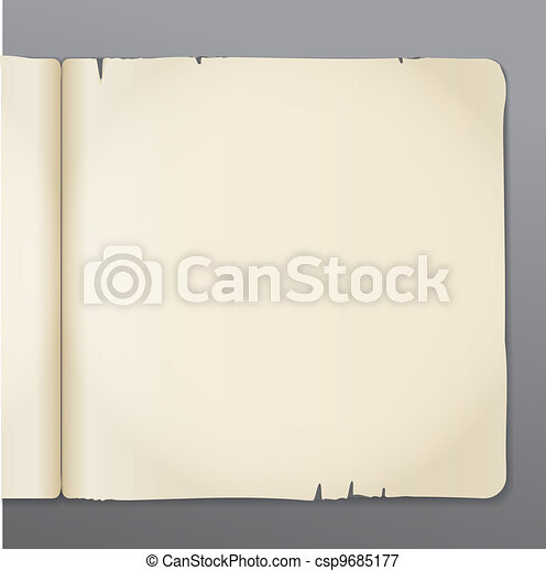 opened book pages background - csp9685177