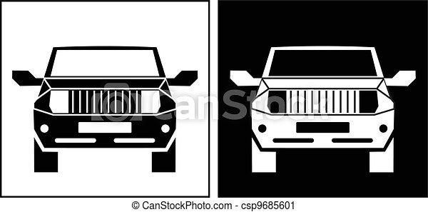 Off-Road vehicle icon - csp9685601