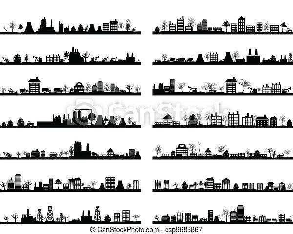 City landscape4 - csp9685867