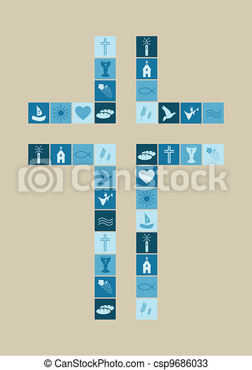 religious symbols cross for boys - csp9686033