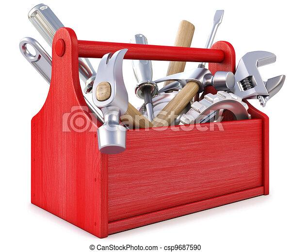 toolbox - Holz-Werkzeu...