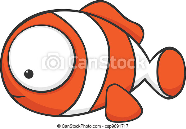 Big-eyed clownfish - csp9691717