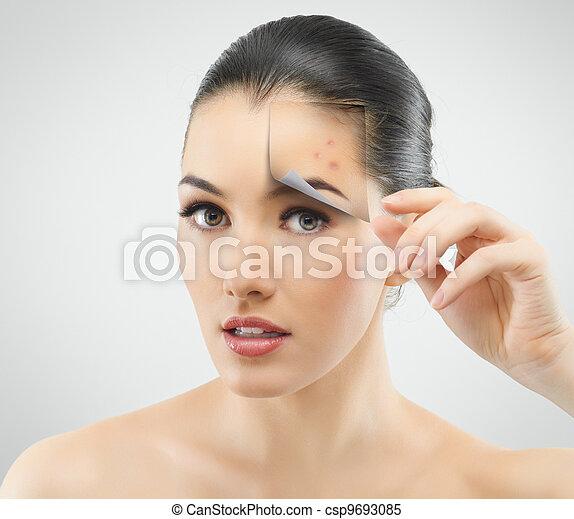 beauty portrait - csp9693085
