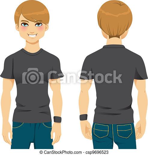 Handsome Man Tshirt - csp9696523