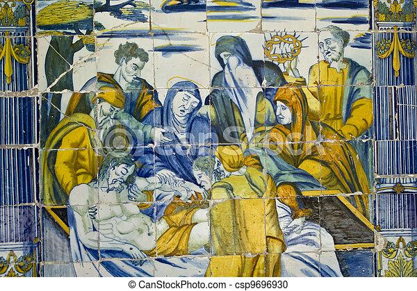 Basilica of Talavera pottery - csp9696930