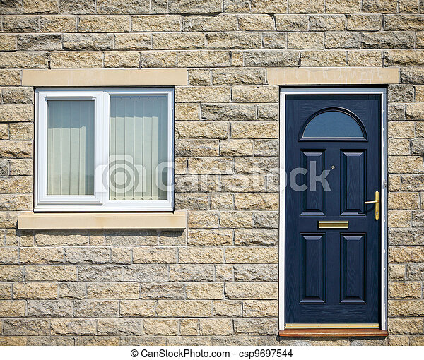 Door and window - csp9697544