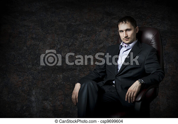 Young adult handsome man - csp9699604