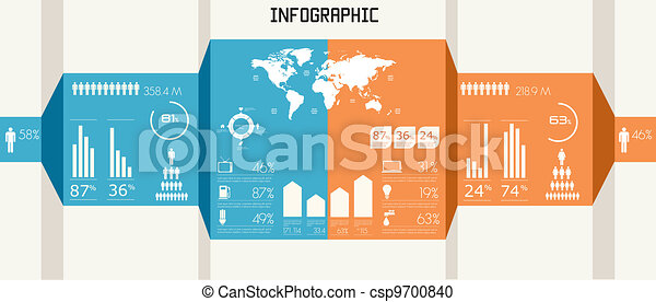 Detail infographics set. - csp9700840