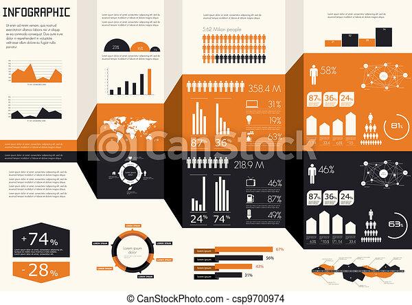 Detail infographics set.  - csp9700974