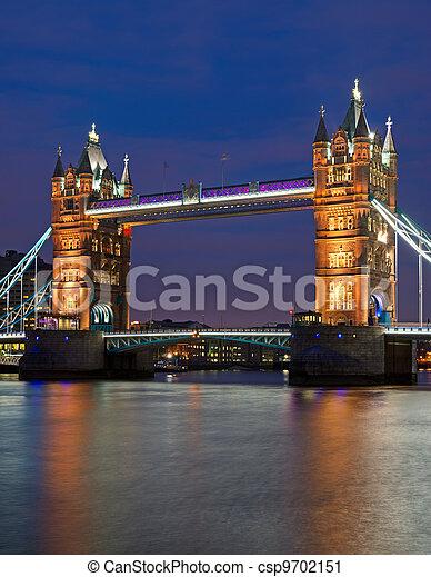 hídtorony, london - csp9702151