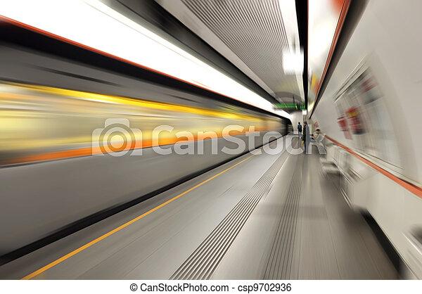 Metro station   - csp9702936