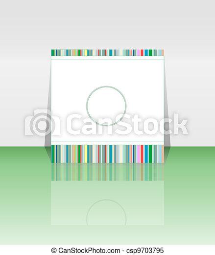 Flyer or cover design - csp9703795