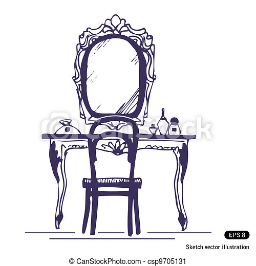 Image Result For Vanity Mirror Clipart