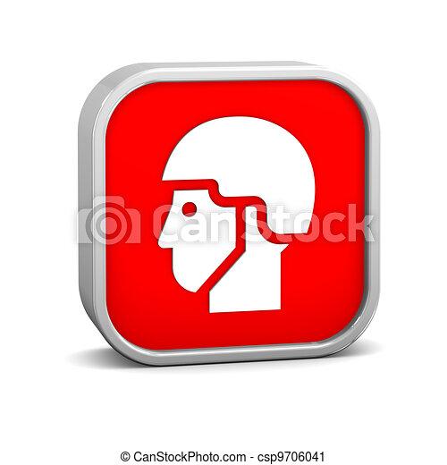Helmet sign - csp9706041