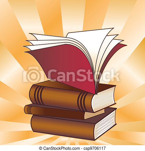 Book Stack, Back to School - csp9706117
