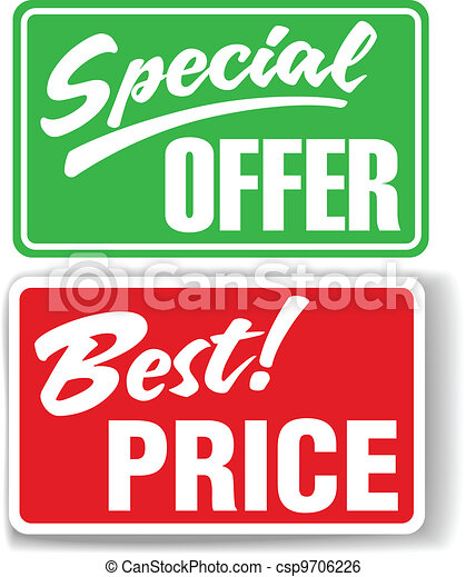 Special Offer Best Price store signs - csp9706226