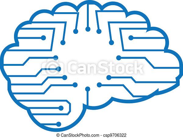 Chip brain - csp9706322