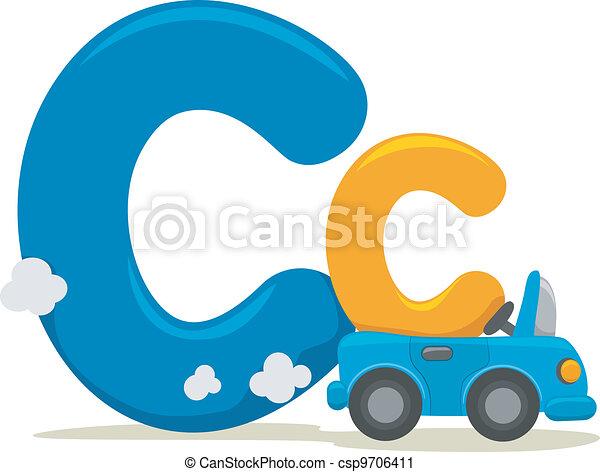 Letter C - csp9706411