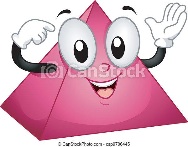 Pyramid Mascot - csp9706445