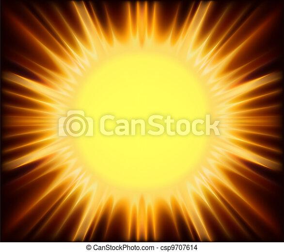Abstract Sunshine - csp9707614
