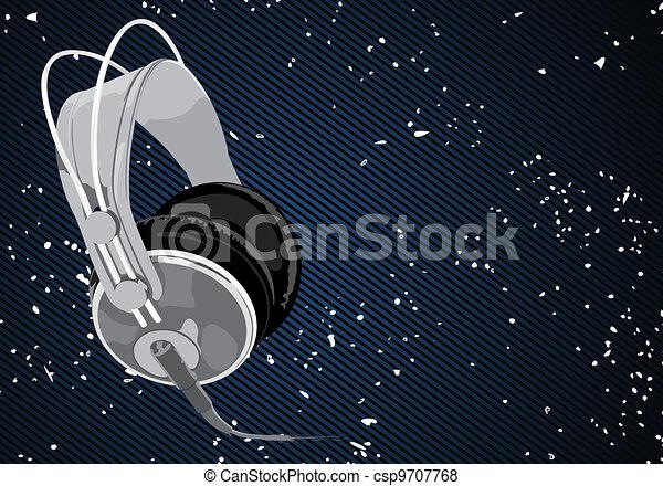 Vector headphones - csp9707768