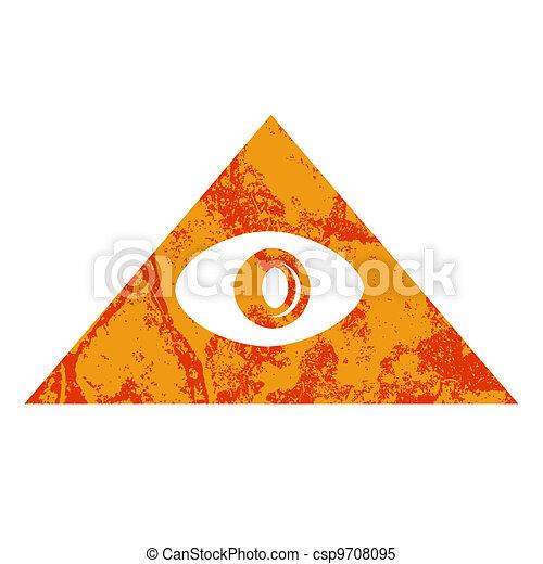 Pyramid Eye - csp9708095