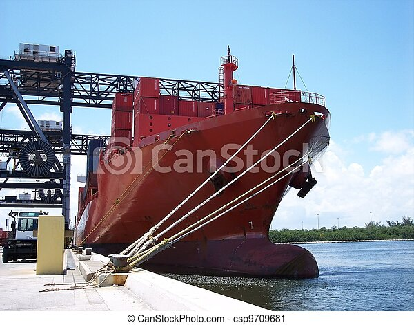 Shipping Industrial Commerce - csp9709681