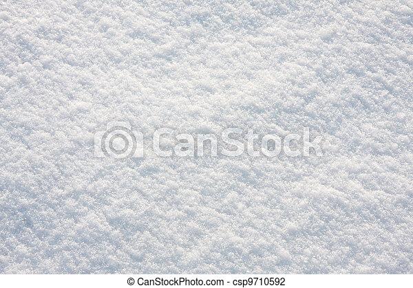 Snow, background of fresh, untouched snow.