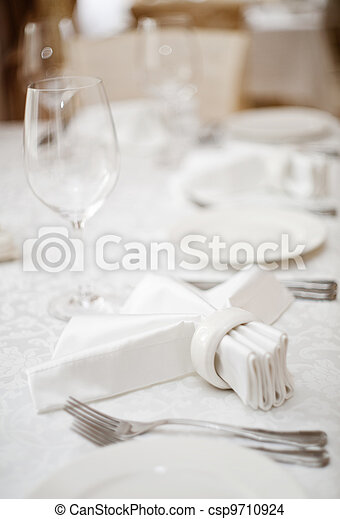 Place setting - csp9710924
