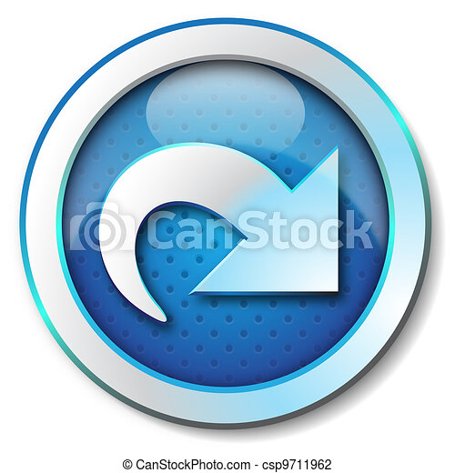 Arrow forward web icon - csp9711962