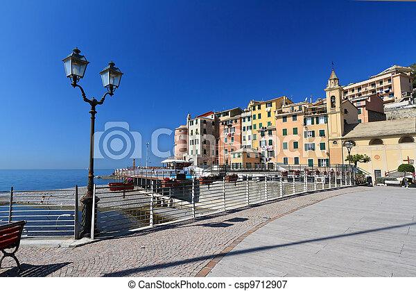 Sori waterfront, Italy - csp9712907