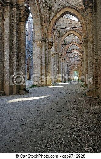 Impressive Columnade - csp9712928