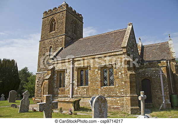 St.Giles Church Hooke Dorset - csp9714217