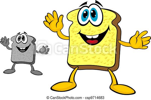 Breakfast bread toast - csp9714683