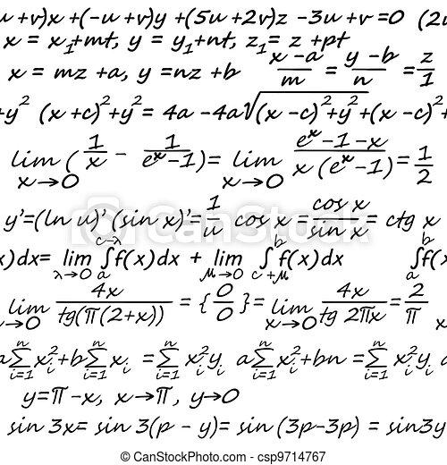 Algebra seamless background - csp9714767