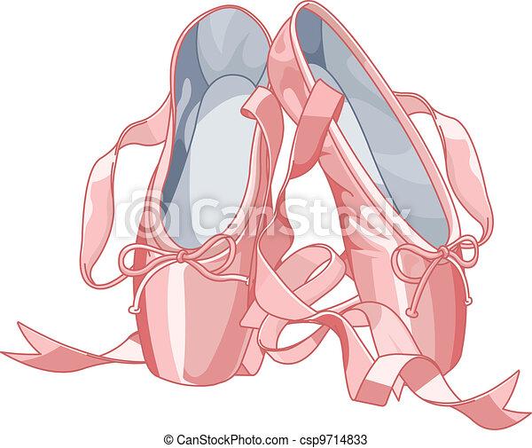 Ballet slippers - csp9714833