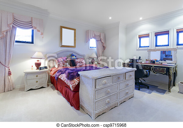 Stylish bedroom - csp9715968