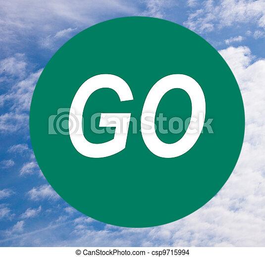 The Go Sign - csp9715994