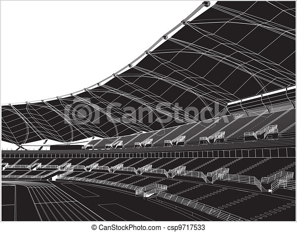 Football Soccer Stadium - csp9717533
