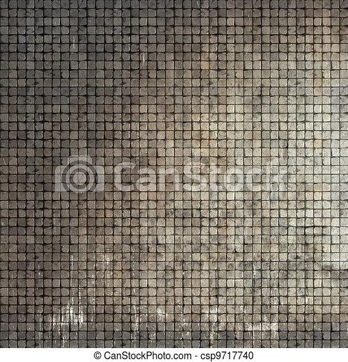 Stock de ilustration de piedra grunge render piso for Mosaicos de azulejos en paredes