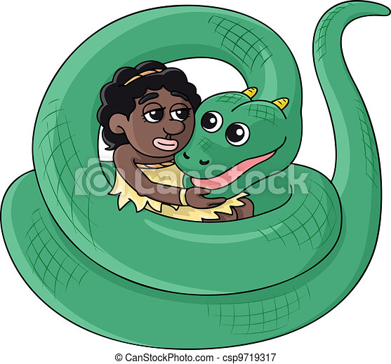 Serpent Girl - csp9719317