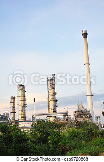 Petrochemical plant - csp9720868
