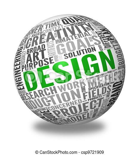 Design concept in tag cloud - csp9721909