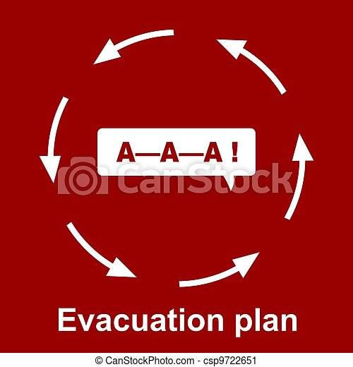 Emergency evacuation plan  - csp9722651