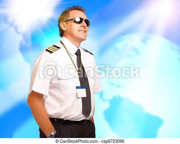 Airline pilot - csp9723095